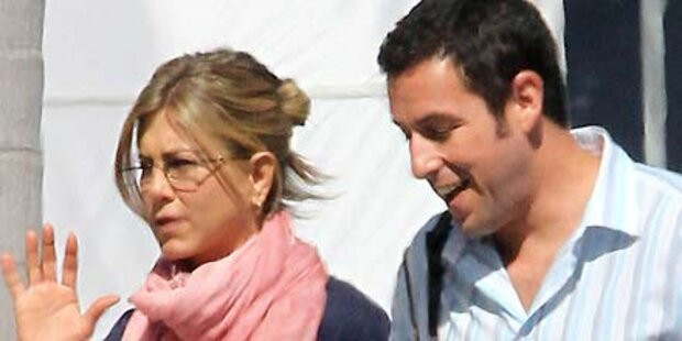 Aniston: Trauriger Mäuschenlook für Film