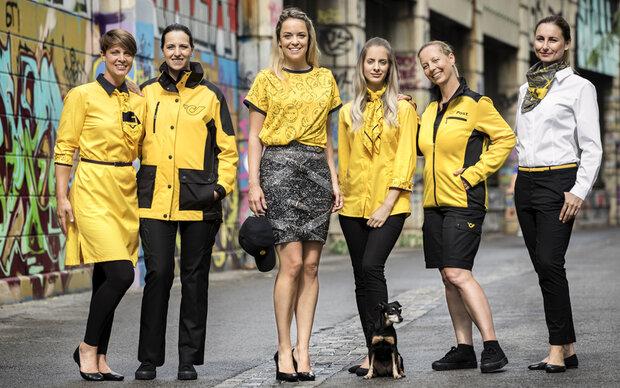Neue Post-Uniformen von Marina Hoermanseder