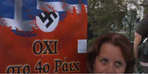 Krawalle bei Merkels Athen-Besuch