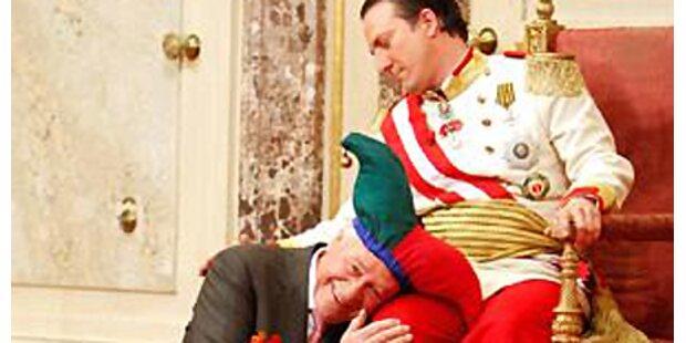 Serafin: Küsschen vom Kaiser!