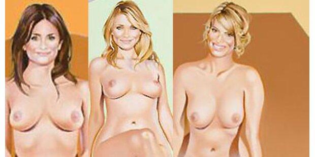 Nackte Hollywood-Ikonen zu erwerben
