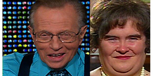 Stimmwunder Boyle bei Larry King!