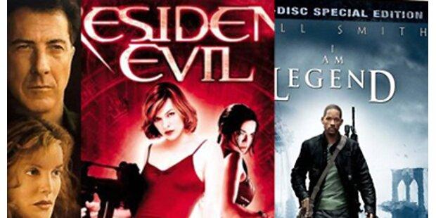 DVD's: Movies mit Seuchen-Szenarien