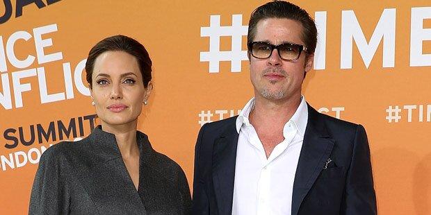 Pitt & Jolie: Dreh ist Härtetest für Ehe