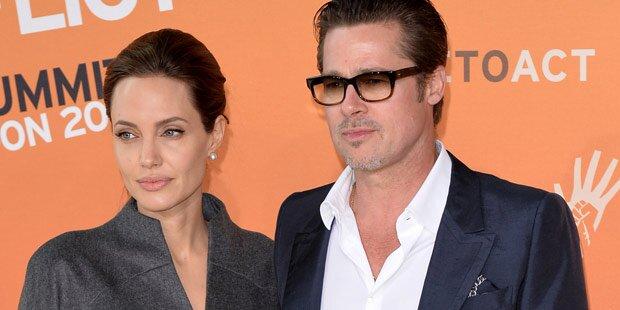 Pitt: Nur noch wegen Kids bei Jolie?