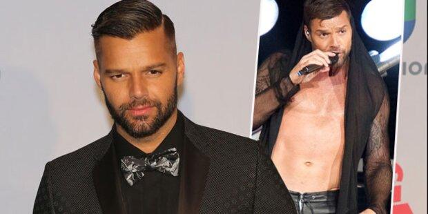 Ricky Martin seit Donnerstag in Wien