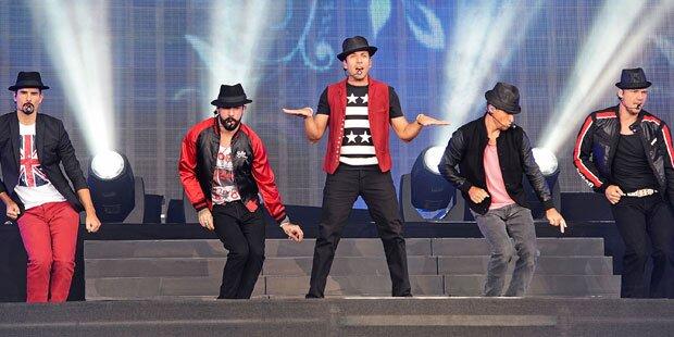 Backstreet Boys auf Wien-Kurs