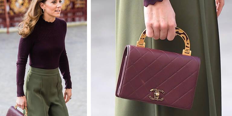 Luxus-Kate trägt 4.100-Euro-Tasche