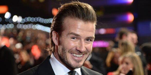 David Beckham: Glücklich als Hausmann