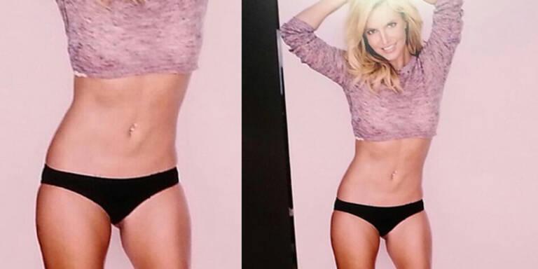 Britney ist wieder rank und schlank