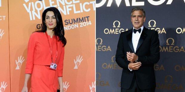 George & Amal: Jetzt wird's ernst