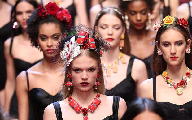 Mailänder Modewoche: Finale mit Dolce & Gabbana