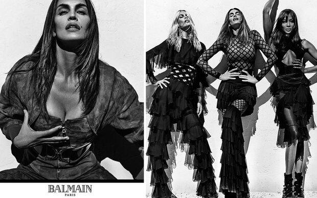 Supermodel-Comeback für Balmain