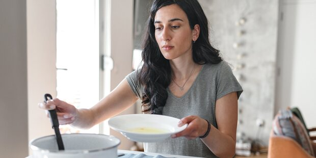 SO retten Sie Ihre versalzene Suppe