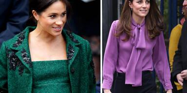 Meghans Garderobe: Dreimal teurer als Kates