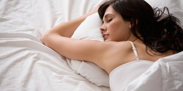 HIER sollte Ihr Bett stehen, damit Sie nachts gut schlafen