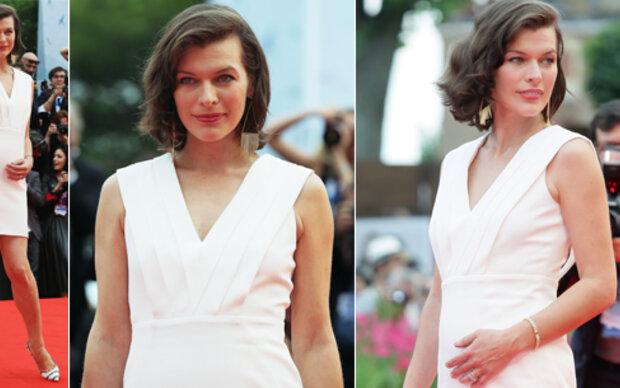 Milla Jovovich: Schwanger mit Stil