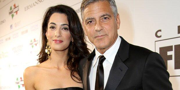 Clooney: Keine zwei Wochen ohne Amal