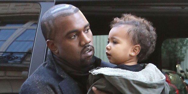 Kanye: 75.000 Euro für Noris Geschenke