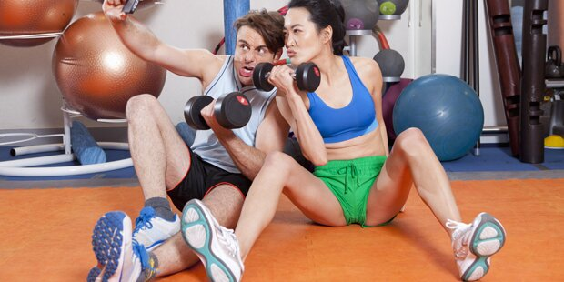 Die schlimmsten No Gos im Fitnesscenter
