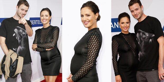 Nazan Eckes zeigt stolz ihren Babybauch