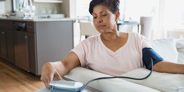 Diesen Fehler machen viele beim Blutdruckmessen