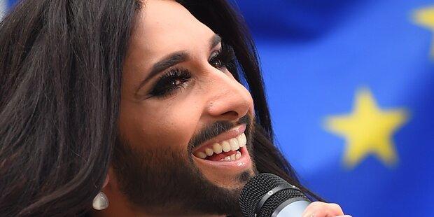 Conchita: Tränen vor Glück im TV