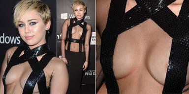 Miley Cyrus im Bondage-Look
