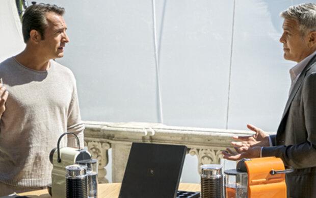Clooney und Dujardin in Nespresso-Spot