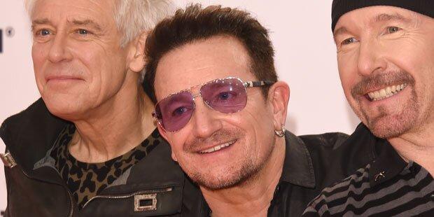 U2-Bono verkleidet sich als Jude