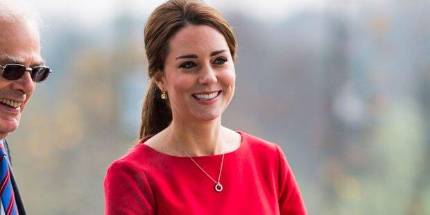 Kate: Endlich genießt sie Schwangerschaft