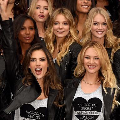 Victoria's Secret-Models in London