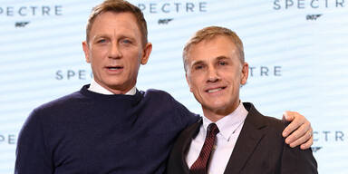 Daniel Craig & Christoph Waltz