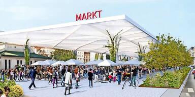 Sima-Markthalle am Naschmarkt vor Aus