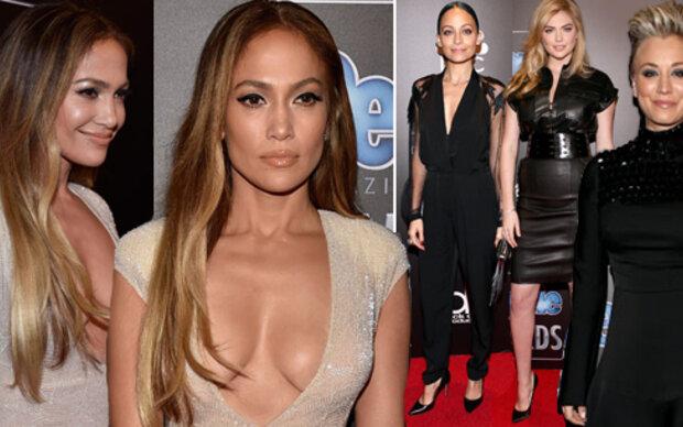 J.Lo's Dekolletee stiehlt allen die Show