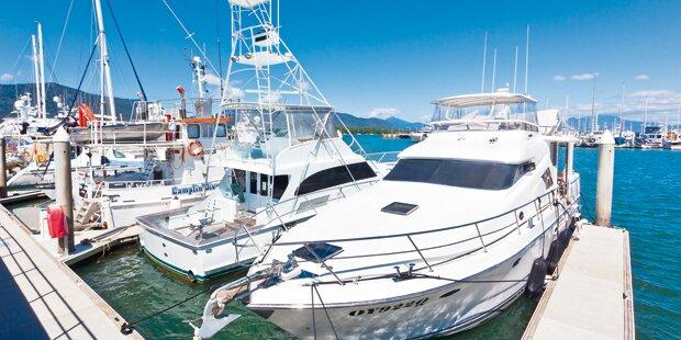 Top-Beamter kurte auf Luxus-Yacht