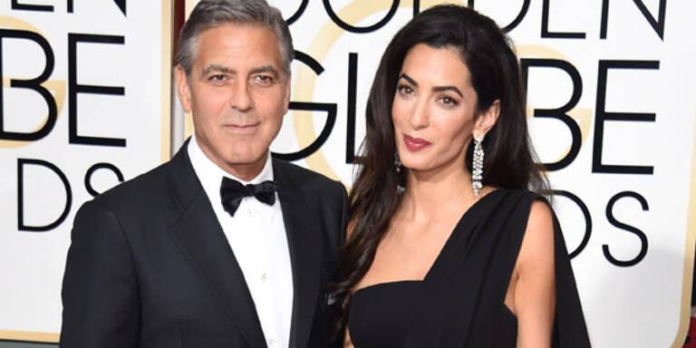 Amal mag Clooneys Freunde nicht