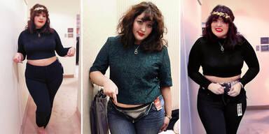 1 Jeansgröße - 10 verschiedene Passformen