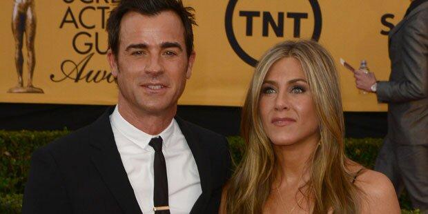 Jennifer Aniston & Justin Theroux: Streit wegen Ehevertrag