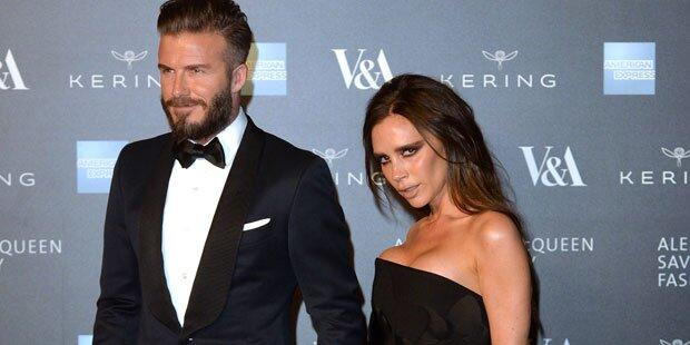 Vic Beckham setzt David auf Diät