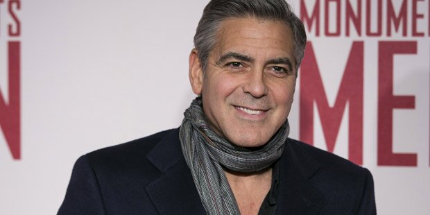 Clooney: Drei Tage Hochzeits-Marathon