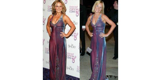 Geri Halliwell: Altes Kleid, neue Kurven