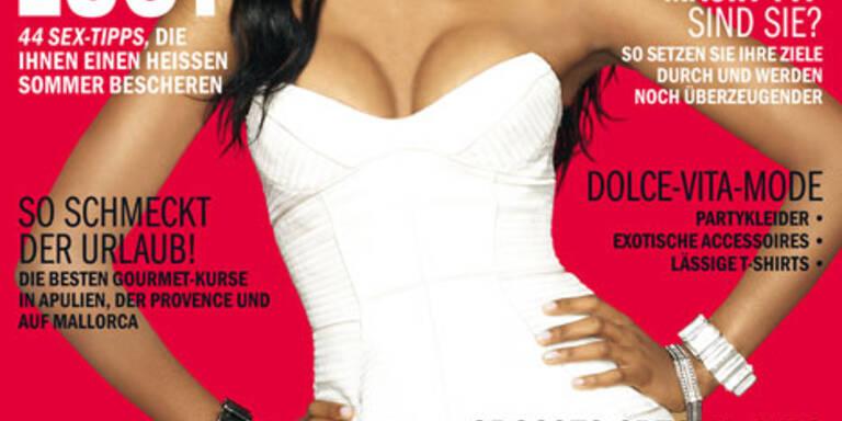 Sara Nuru auf dem Cover der Cosmopolitan