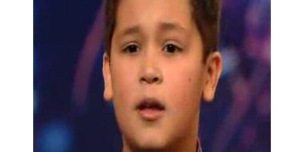 12-Jähriger singt alle an die Wand