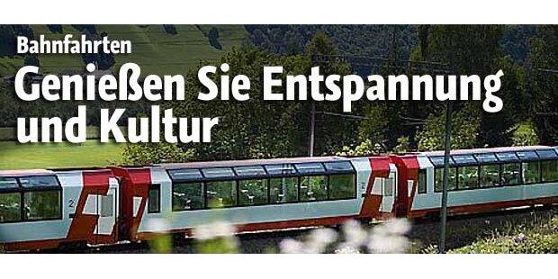 Bahnreisen - Entspannung und Kultur