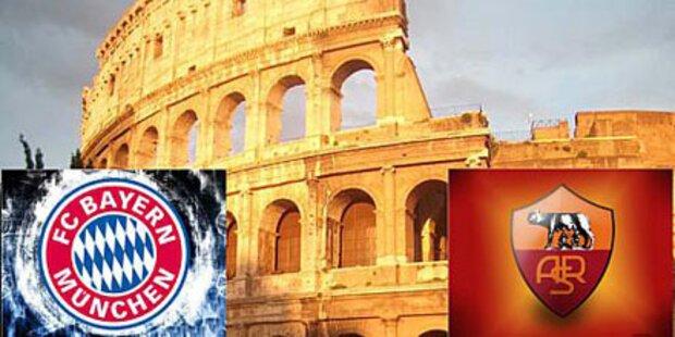 Zur Champions League nach Rom