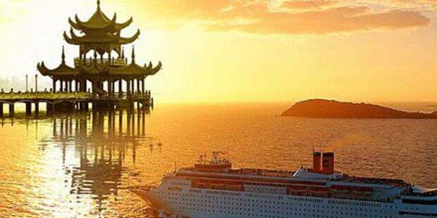 Entdecken Sie China per Kreuzfahrt-Schiff