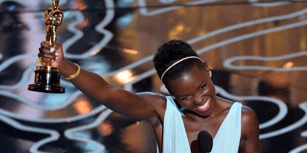 Oscars: Lupita Nyong'o rührt mit Tränen