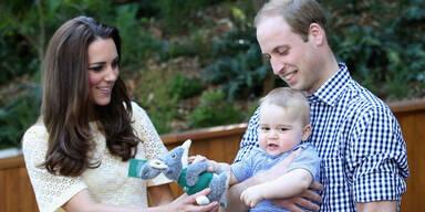 Prinz William, Herzogin Kate, Prinz George