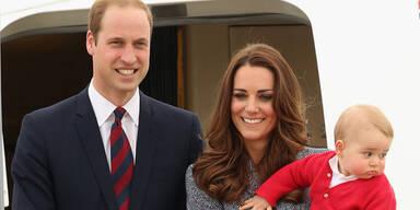 Herzogin Kate, Prinz William, Prinz George